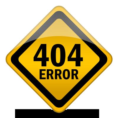 Error 404 – File not found